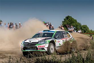 SKODA Rally Team Hungária: Ötödikek lettünk a Lengyel Rallyn!